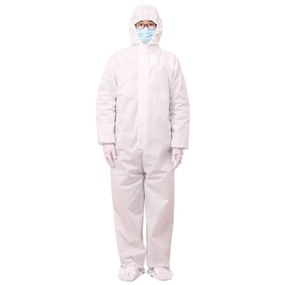 Disposable Non-Woven Protective Clothing Coverall